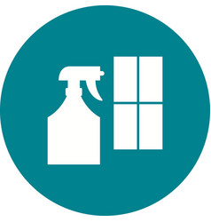 Window cleaning agent vector