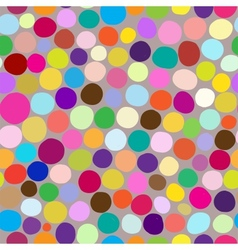 Colorful circles pattern vector image