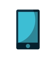 Smartphone technology line icon vector