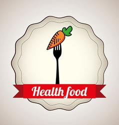Health food design vector