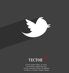 Social media messages twitter retweet icon symbol vector