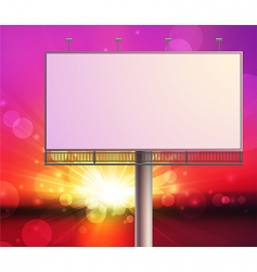 Construction on sunset sky background vector