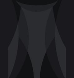 Black background for design certificate dark vector