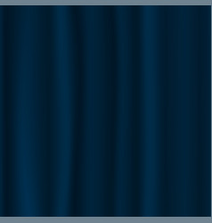 blue curtain background luxury blue dark color vector image vector image