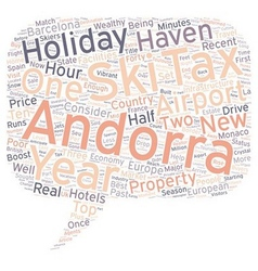 New airport boost for andorra text background vector