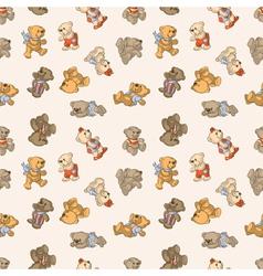 Teddy bears vector image vector image