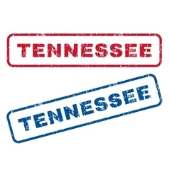 Tennessee rubber stamps vector