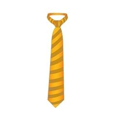 Pattern necktie icon image vector