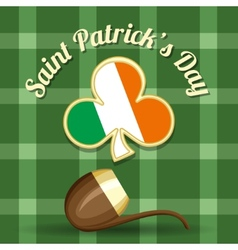 Saint patricks day theme vector