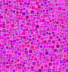 Purple pink magenta square mosaic background vector