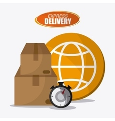 Delivery design shipping  logistic vector