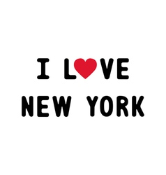 I love new york2 vector