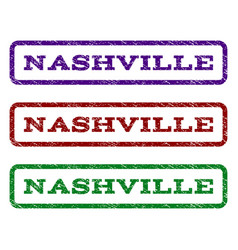 Nashville watermark stamp vector
