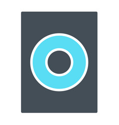 speaker icon sound audio music sign vector image vector image