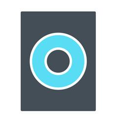 speaker icon sound audio music sign vector image