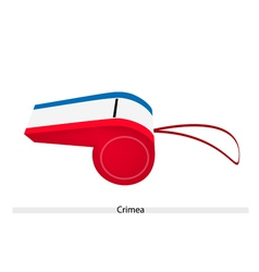 A whistle of autonomous republic of crimea vector