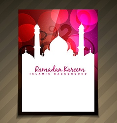 Islamic template vector