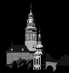krumlov vector image