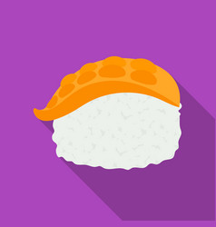 nigiri icon in flate style isolated on white vector image