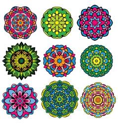 Set color circle 380 vector