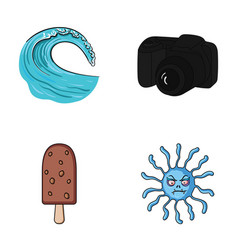 travel desert and other web icon in cartoon style vector image vector image
