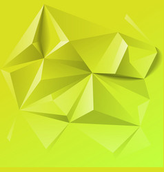abstract colorful geometric low poly background vector image vector image
