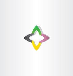 Business tech abstract logo sign symbol icon vector