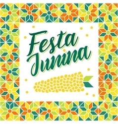 Festa junina - brazil midsummer festival vector