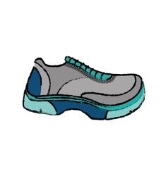 Running sport sneaker vector