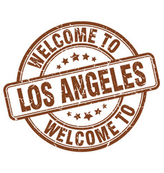 Welcome to los angeles vector
