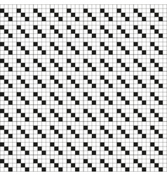 Abstract squares black and white lines technical vector