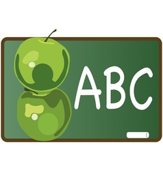Abc apples vector