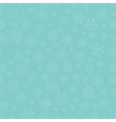 Blue subtle winter snow flakes doodle seamless vector
