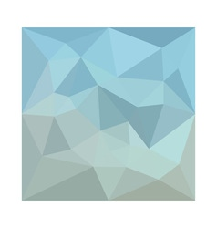 Cadet blue orange abstract low polygon background vector