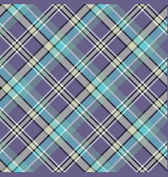 cold colors diagonal plaid pixeled seamless vector image