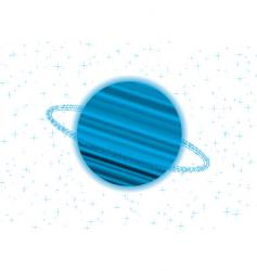 Saturn twist vector image