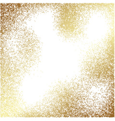 Abstract gold texture square background vector