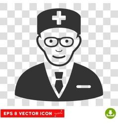 Head physician eps icon vector