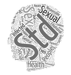 Sexual Health Awareness and Social Responsibility vector image