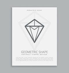 Geometric shape vector