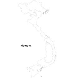 Vietnam map vector