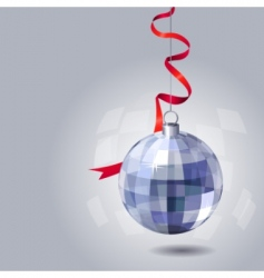 hanging ball vector image