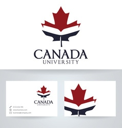 Canada university vector