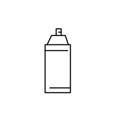 paint spray icon vector image