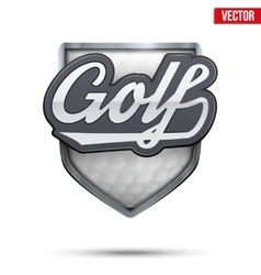 Premium symbol of Golf label vector image vector image