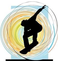 Skater boy vector image vector image