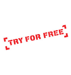 Try for free rubber stamp vector