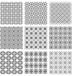 geometrical patterns vector image