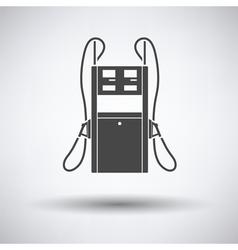 Fuel station icon vector