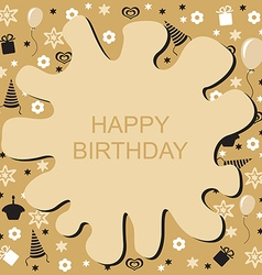 birthday blob vector image